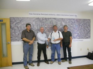 Jeff Spaid, John Bartol(PfSW rep), Mike Smeal (Mgr.) and Randy Bloom