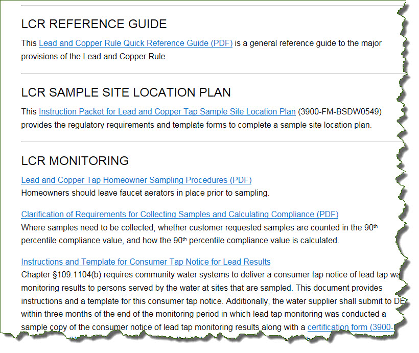 LCR Reference Guide through Tap Notice