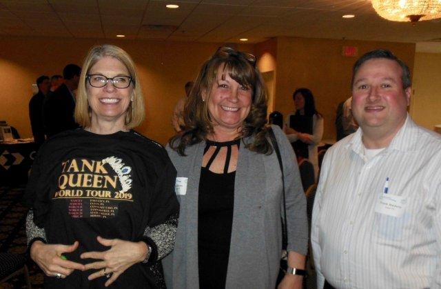 Deb Watkins, Ann Dreyer, Frank Medora