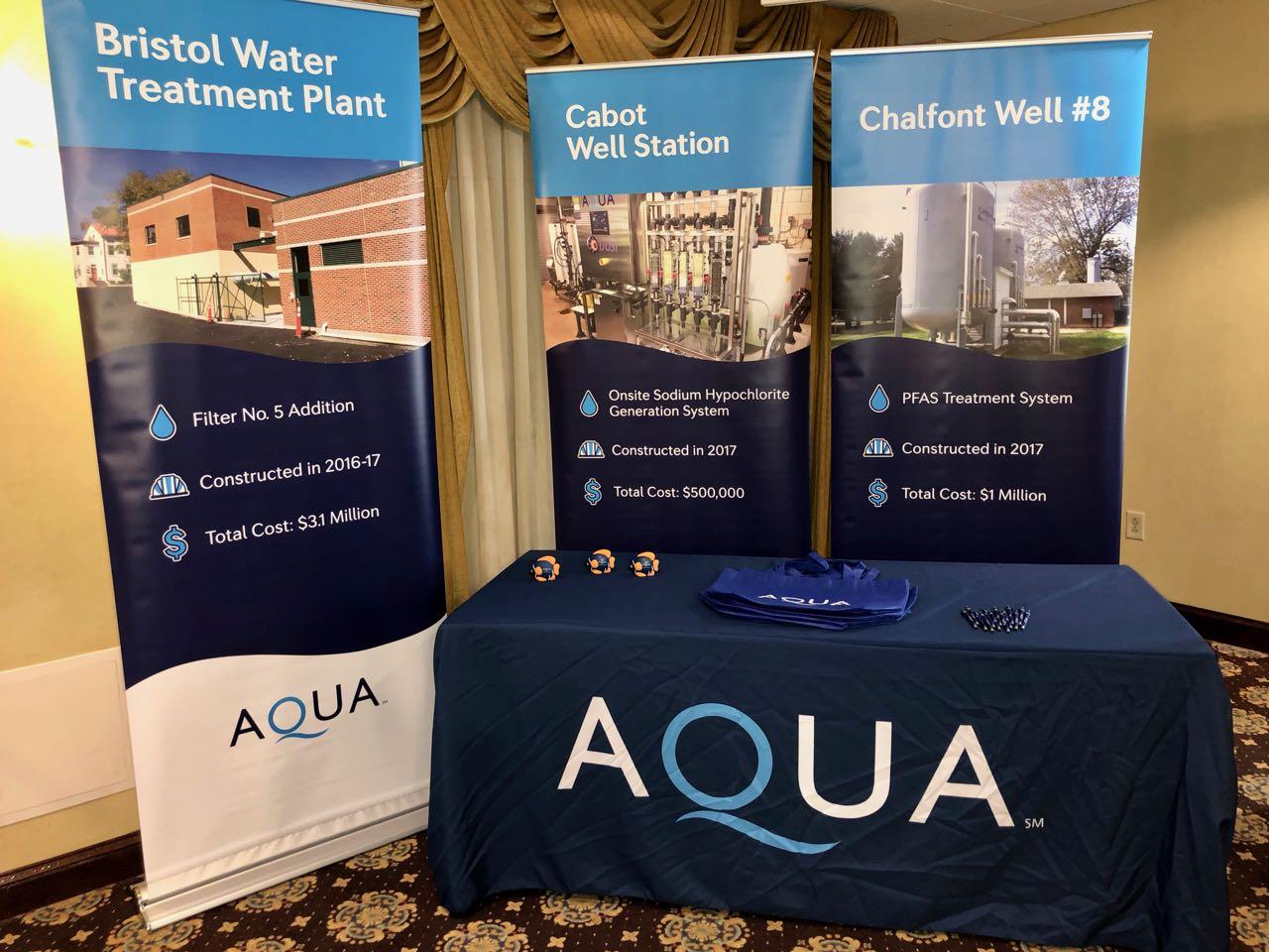 Premier sponsor Aqua Pennsylvania